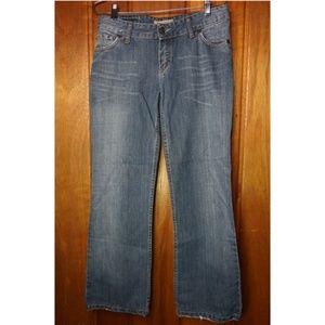Massimo Dutti Women's Denim Jeans Straight